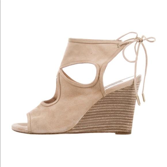 6740818df3e Aquazzura Shoes - Aquazzura Sexy Thing Wedge Sandals